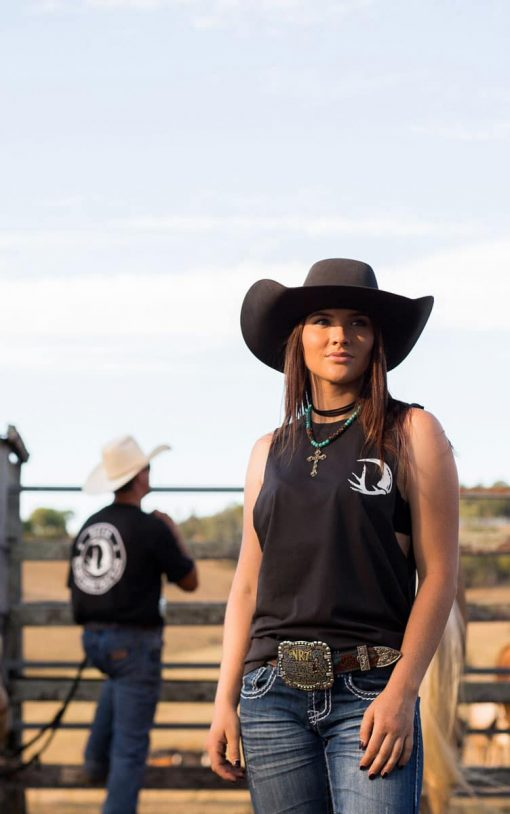 Outlaw Muscle T-Shirt Image 1